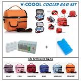 V-Coool Premium Cooler Bag Complete Set (10 bottles)