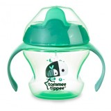 Tommee Tippee -  Weaning Sippee Cup 4m+ (Green)