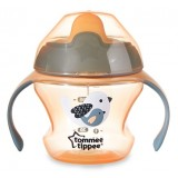 Tommee Tippee -  Weaning Sippee Cup 4m+ (Orange)