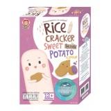 Apple Monkey - Organic Rice Cracker 30g *Sweet Potato* BEST BUY