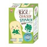 Apple Monkey - Organic Rice Cracker 30g *Spinach* BEST BUY