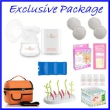 Tiny Touch Mini Portable Electric Single Breast Pump **EXCLUSIVE PACKAGE**