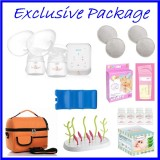 Tiny Touch Intelligent Electric Double Breast Pump **EXCLUSIVE PACKAGE**