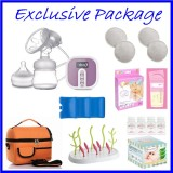 Autumnz - BLOSSOM Convertible Single Electric/Manual Breastpump *EXCLUSIVE PACKAGE*