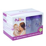 Adora - Breastmilk Storage Bottles (6pcs with FREE GIFTS)