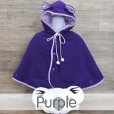 * CuddleMe - Baby Cape Solid *PURPLE*