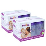 Adora - Breastmilk Storage Bottles (6pcs with FREE GIFTS) *TWIN PACK*