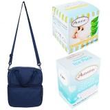 Autumnz - Posh Cooler Bag Complete Set (4 btls) - Denim Blue
