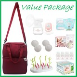 Tiny Touch Mini Series Single Electric Breast Pump BEST BUY **VALUE PACKAGE**