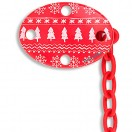 Suavinex - Oval Soother Clip 0m+ *Red* Winter 2016 *BEST BUY*