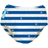Charlie Banana - 2-in-1 Swim Diapers & Training Pants (Blue Stripes)