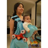 Klick-A-Gift - Baby Ring Sling -Linen *Turquiose*