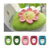 Adorable WashableToilet Seat Cover *Blooming Blossom*