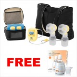 Medela - Freestyle (with 2-Phase Expression) *FOC Isa Uchi 2 in 1 Digital Bottle & Food Warmer worth RM169.00*