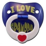 "Billy Bob - ""I Love My Grandpa"" Pacifier"
