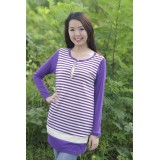 Autumnz - Aaliyah Nursing Tunic (Purple)