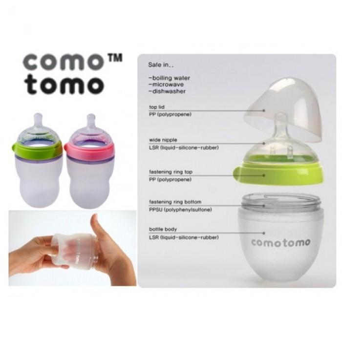 Comotomo - Natural Feel Baby Bottle 250ml (1pc)