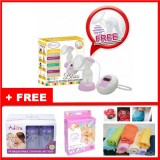 Autumnz - BLISS Convertible Single Electric/Manual Breastpump w FREE GIFTS total worth RM81.40
