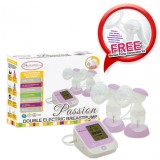 Autumnz - PASSION Convertible Double Electric/Manual Breastpump with FREE GIFTS