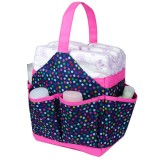 Autumnz Portable Diaper Caddy - Candy Drops (Navy)