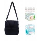 Autumnz - Posh Cooler Bag Complete Set (4 btls) - Black