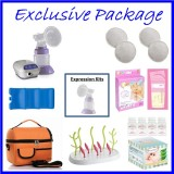Rumble Tuff - Might Tyke Single Electric Breastpump **EXCLUSIVE PACKAGE**
