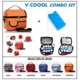 PWP : V-Coool Premium Cooler Bag & Ice Brick *COMBO*