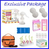 Autumnz - JOY Manual Breast Pump **EXCLUSIVE PACKAGE**