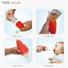Ange Baby - Baby Food Dispensing Spoon