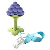 Ange Baby - Fruit Teether with Clip (Grape)