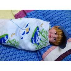 PWP : Adorable Cozy PREMIUM Cotton Swaddle *Panda World*