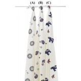 PWP : Adorable Cozy PREMIUM Bamboo Swaddle *MD 1* (1pc)