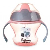 Tommee Tippee -  Weaning Sippee Cup 4m+ (Pink)