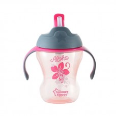 Tommee Tippee - Training Straw Cup 9m+ (Pink)