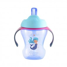 Tommee Tippee - Training Straw Cup 9m+ (Purple)
