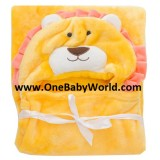 Adorable - Soft Hooded Bath Blanket *Lion King*