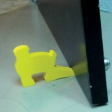 Lucky Baby - Safety Foam Door Stopper Cum Holder 609309