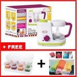 Autumnz - 2-in-1 Baby Food Processor (Steam & Blend) w FREE GIFTS total worth RM67.40