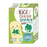 Apple Monkey - Organic Rice Cracker 30g *Spinach* BEST BUY