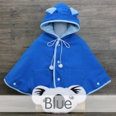 * CuddleMe - Baby Cape Solid *BLUE*