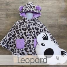 * CuddleMe - Baby Cape *LEOPARD*
