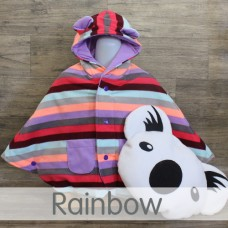 * CuddleMe - Baby Cape *RAINBOW*