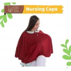 * CuddleMe - Nursing Cover *TERACOTTA COMBI*