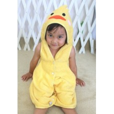 * CuddleMe - 3-in-1 Smart Towel *YELLOW DUCK*