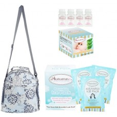 Autumnz - Classique Cooler Bag Complete Set *4pcs* (Henna Grey)