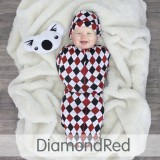 * CuddleMe - Hybrid Swaddlepod Diamond *RED*