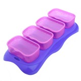 * EASY Breastmilk & Baby Food Storage Cups (4oz) *Plum* BEST BUY