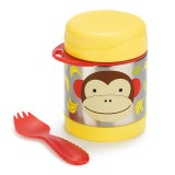 Skip Hop - Zoo Insulated Food Jar *Monkey*