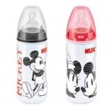 NUK - Premium Choice Mickey PP Bottle With Silicone Teat 300ml/10oz (BPA FREE)