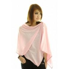Autumnz Nursing Poncho - Posh Pink